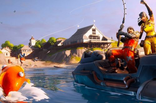 'Fortnite' Is Hosting Its Inaugural Fishing Tournament This Weekend