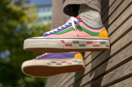 "Size? Upgrades Vans Style 36 With ""Patchwork"""