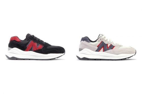 "New Balance's 57/40 Shows Its Versatility With ""Munsell White"" and ""Charcol/Red"" Colorways"