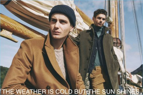 Highlands: Aaron Shandel, Ben Allen, David Alexander Flinn, & Arthur Gosse for Massimo Dutti
