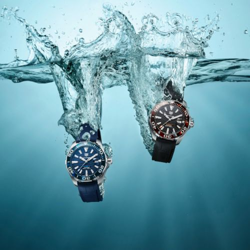 New TAG Heuer Aquaracer Special Editions adds Stylish Aesthetics to Series