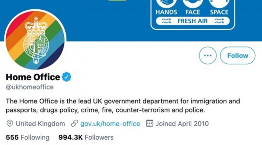 The gross, grim irony of the UK Home Office's Pride rebrand