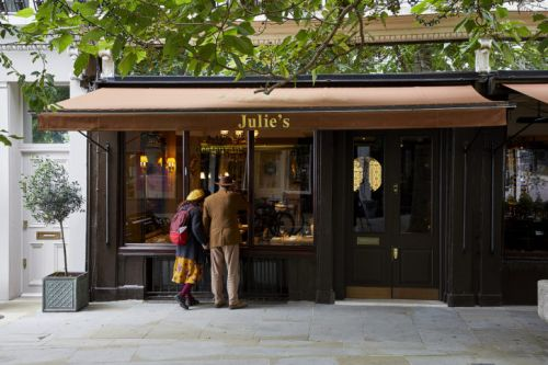 New-look Julie's Restaurant Reopens in West London
