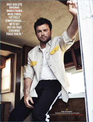 Alden Ehrenreich Covers Esquire, Talks Han Solo