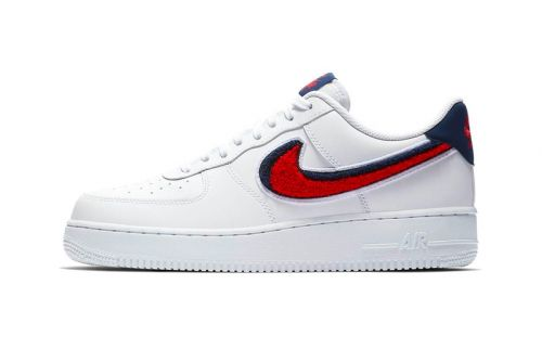 Nike Applies More 3D Chenille Swooshes to the Air Force 1 Low