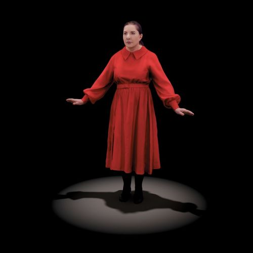 Marina Abramović is an uncannily real digital sculpture in her latest show