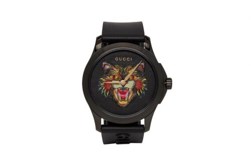 Gucci Drops Another Black Cat-Themed Watch