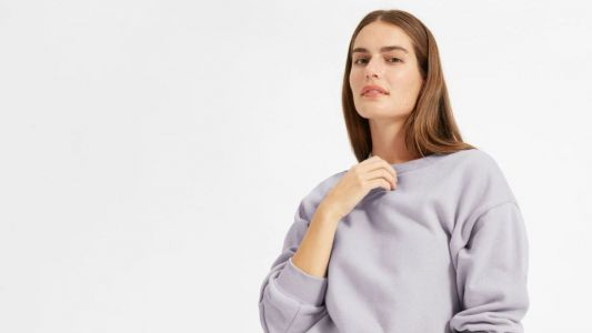 How Did Everlane Know Dhani Needed a Lavender Sweatshirt?