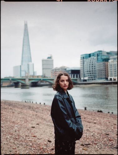 By the river in London