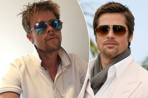 Brad Pitt look-alike says it's impossible to date as a doppelgänger