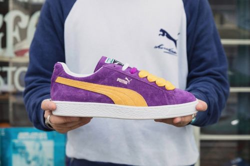 Vintage PUMA Suede Model Resurfaces With Old-School Sneakerheads in Mind