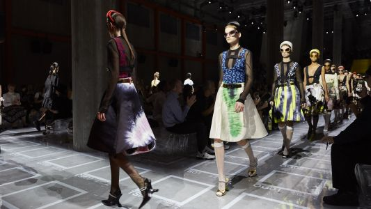 Prada SS19 continues its exploration of complex femininity in a turbulent world