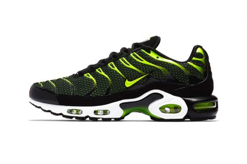 """Nike's Air Max Plus Gets a Vibrant Hit of """"Volt"""""""