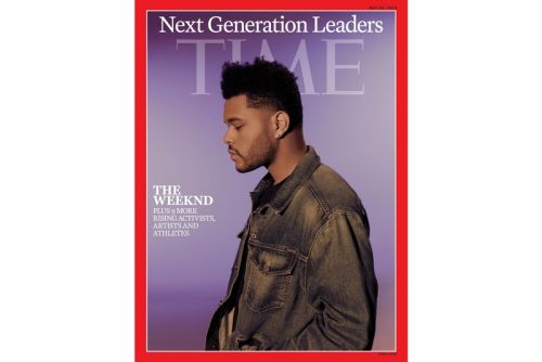 """The Weeknd Covers TIME Magazine's """"Next Generation Leaders"""" Issue"""
