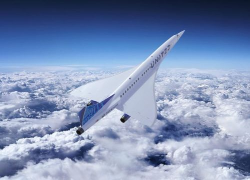 United Airlines Announces Deal With Boom Supersonic