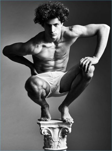Cyrus Amini is Fit for H Magazine