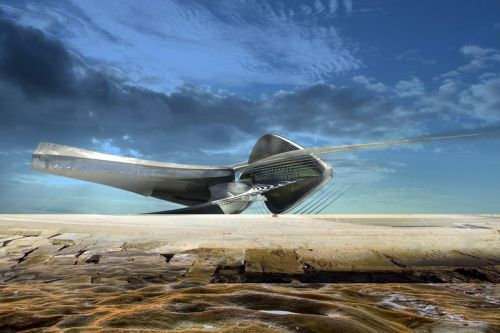 Margot Krasojević Unveils Plans for Hydroelectric Sculpture Gallery in Russia