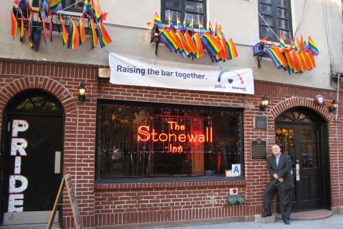 Stonewall vet: 'We were fighting back years of oppression'