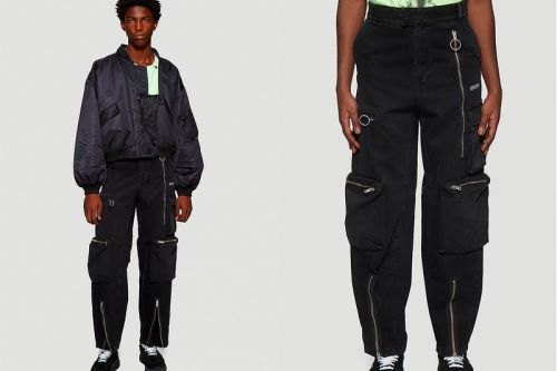 Off-White™ Gets Tactical With Its New Multi-Pocket Jeans