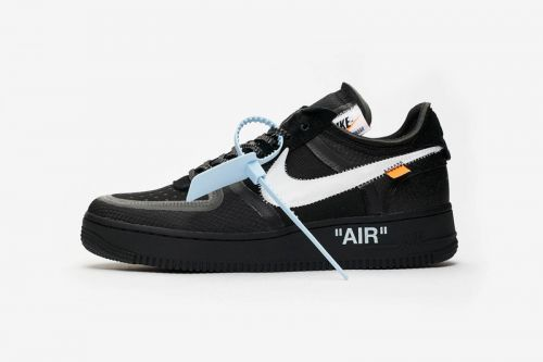 "A Clean Look at the Off-White™ x Nike Air Force 1 ""Black"""