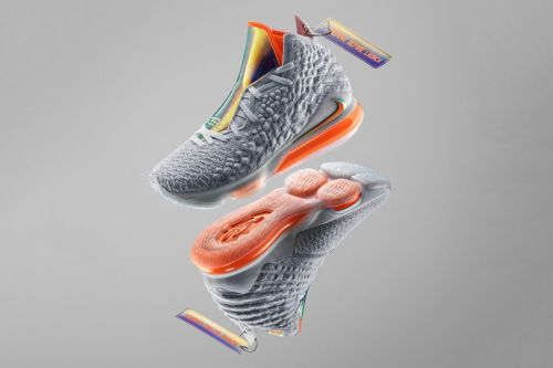 """Nike Unveils the LeBron 17, Introducing New """"Knitposite"""" Technology"""