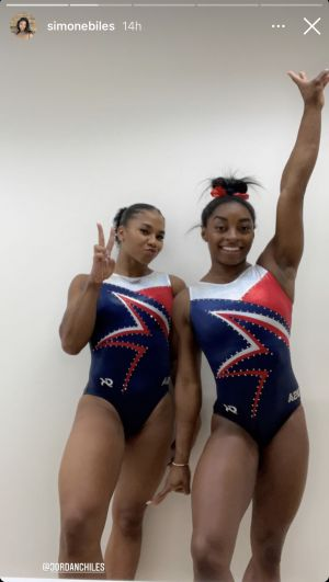 Jordan Chiles Defends BFF Simone Biles After 2021 Tokyo Olympics Exit: 'She's Simone for a Reason'