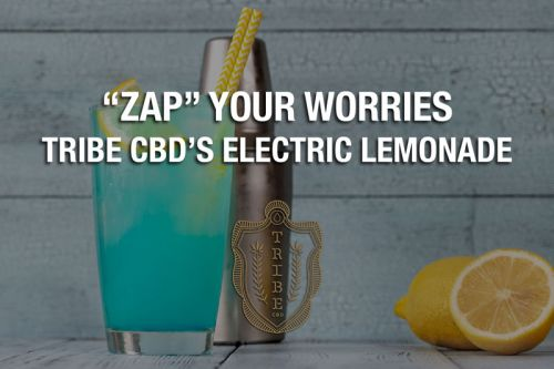 """""""Zap"""" Your Worries With Tribe CBD's Electric Lemonade"""