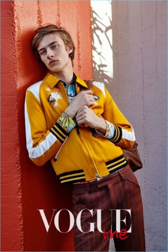 Lucky Blue Smith Makes a Spring Statement with Vogue ME