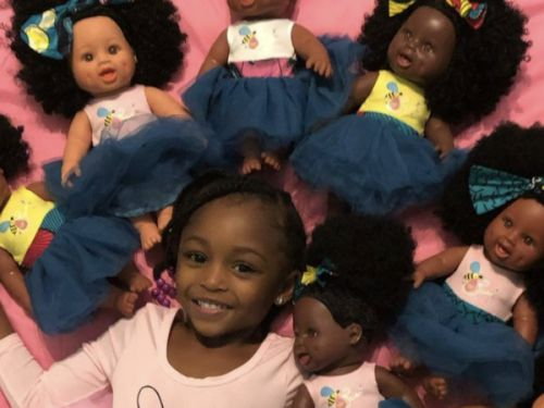 Mother-Daughter Duo Launches Line Of Black Dolls Sold At Target