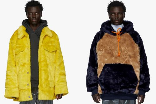 Cozy Up in LANDLORD's Latest Colorful Faux-Fur Outerwear