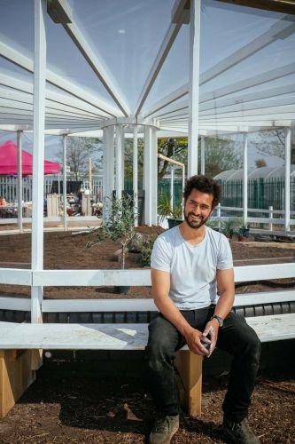 The community garden in Liverpool built as a site for resilience