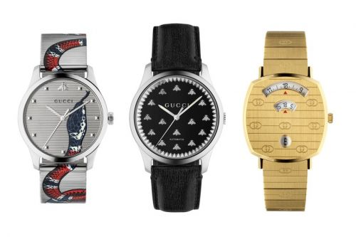 Gucci Introduces Unisex Watch Line at Baselworld