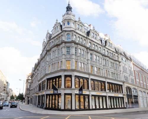 Burberry Opens a New Flagship Store on Sloane Street