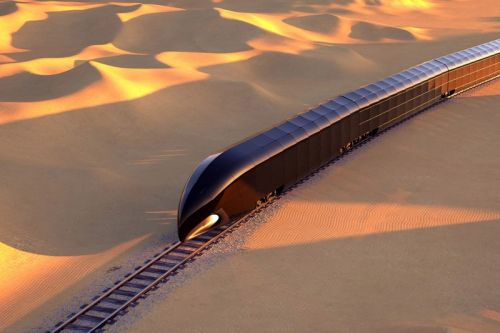"""The """"G-Train"""" Is a $3.5 Million Dollar Luxury Vessel of the Future"""