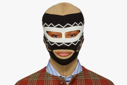 Gucci Releases a Knitted Logo Balaclava Mask
