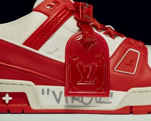 Louis Vuitton Sneakers to be Auctioned for Charity