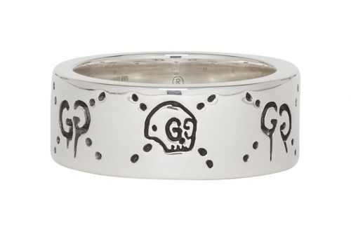 """Gucci Drops Silver-Coated """"GucciGhost"""" Ring"""