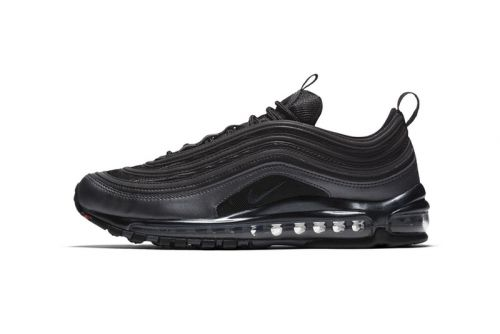 """Nike Introduces the Air Max 97 in Black & """"University Red"""""""