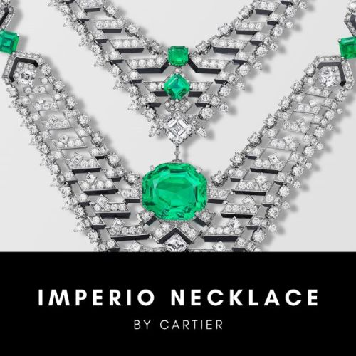 Imperio Necklace by Cartier