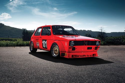 The World's First-Ever Racing Volkswagen Golf Is up for Auction