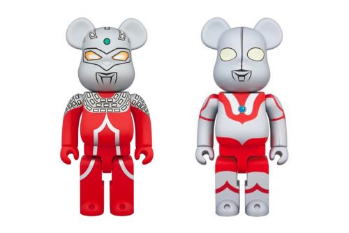 Ultraman & Ultraseven Get Transformed Into Medicom Toy BE RBRICKs
