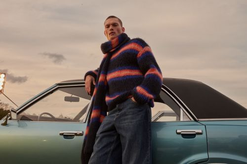 William & Roman Don Kenzo Knits for Stylebop Campaign