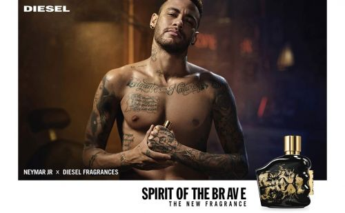 Neymar Jr. x Diesel Fragrances launch Spirit of the Brave