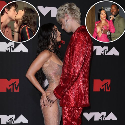 TMI! The Grossest and Weirdest PDA Moments From Celebrity Couples: Megan Fox, MGK and More