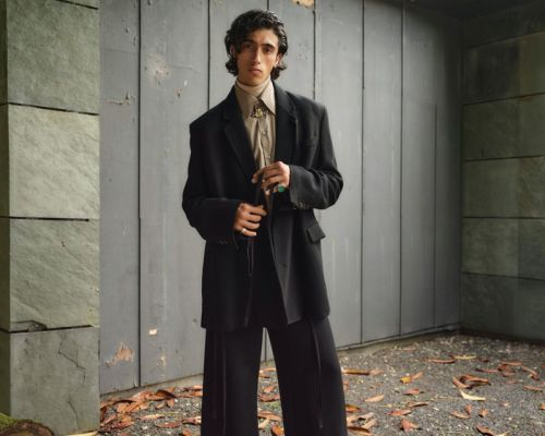 Nasser Mirza Dons Fall Trends from Harrods