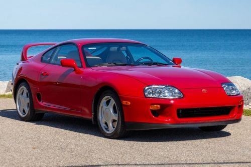 This Stock Toyota Supra Mk4 Is Going to Sell for Hundreds of Thousands