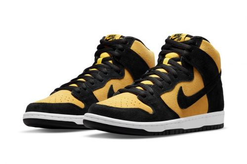 """Nike SB Flips the Script with the SB Dunk High """"Reverse Goldenrod"""""""