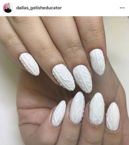 This Sweater Nail Art Is So Perfect For Winter