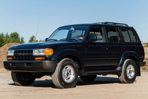 Someone Just Dropped $136k USD on This 1994 Toyota Land Cruiser FZJ80