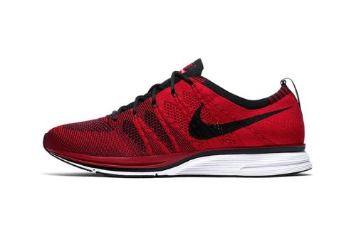 "Nike Flyknit Trainer Goes Bright & Bold With New ""University Red"" Colorway"